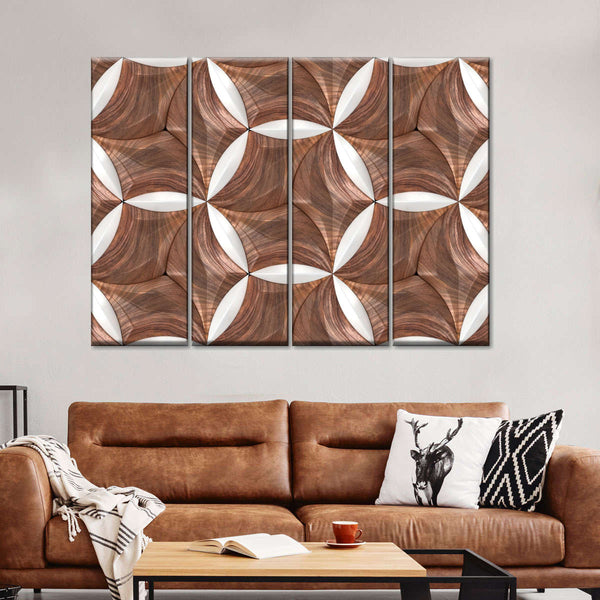 Honeycomb Multi Panel Canvas Wall Art