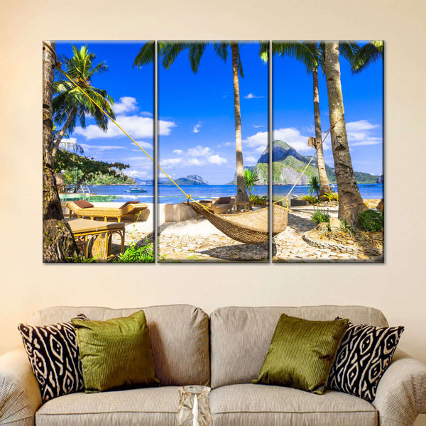 Tropical Philippine Island Multi Panel Canvas Wall Art