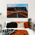 Sunny Road Multi Panel Canvas Wall Art
