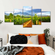 Picturesque Wine Yard Multi Panel Canvas Wall Art