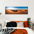 Abu Dhabi Desert Multi Panel Canvas Wall Art