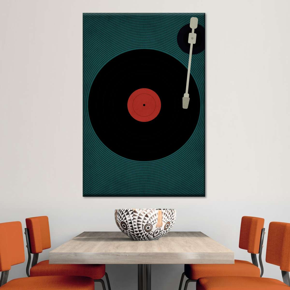 Let The Music Play Multi Panel Canvas Wall Art