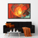 Flaming Sun Multi Panel Canvas Wall Art