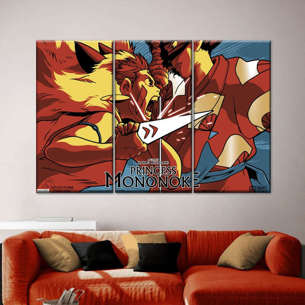 There's A Demon Inside You Multi Panel Canvas Wall Art