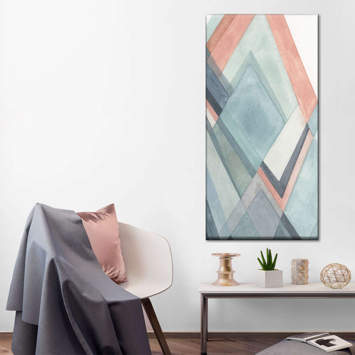Coral Hills Multi Panel Canvas Wall Art