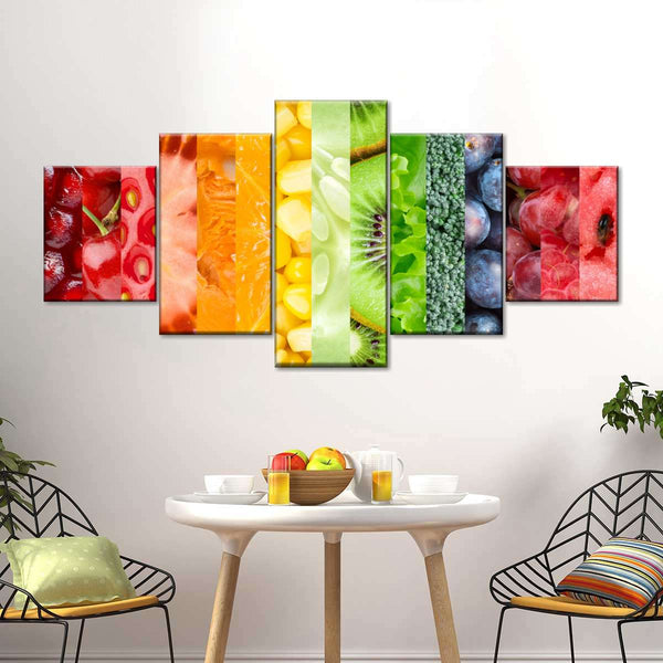 Healthy Life Multi Panel Canvas Wall Art