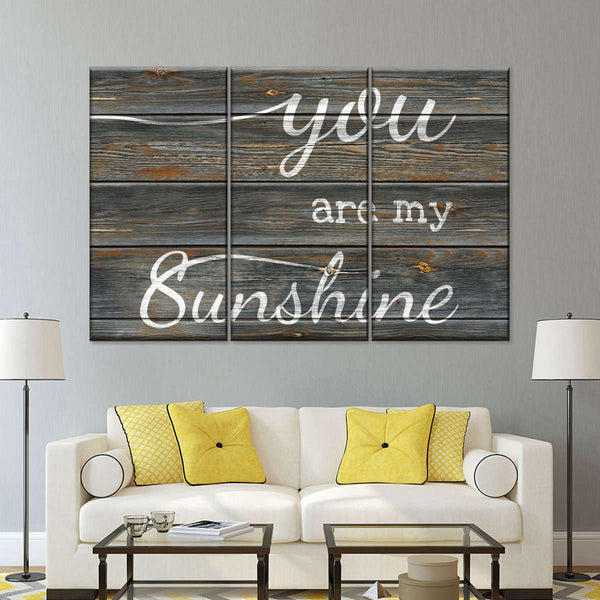 Great Top Wall Decor You Are My Sunshine Info @house2homegoods.net