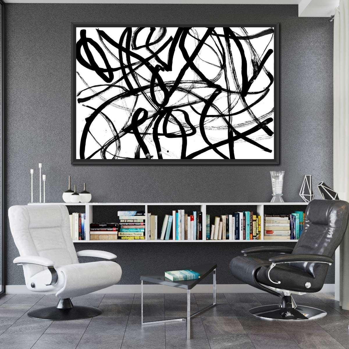 Abstraction Multi Panel Canvas Wall Art