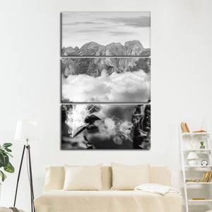 Freedom Within Multi Panel Canvas Wall Art - Portrait