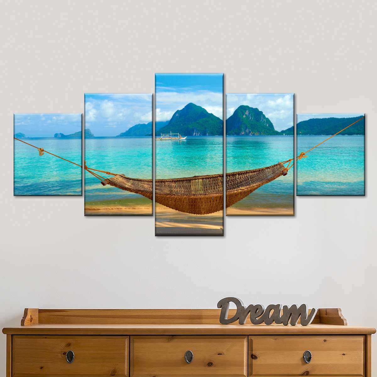 Philippine Relaxation Multi Panel Canvas Wall Art Elephantstock
