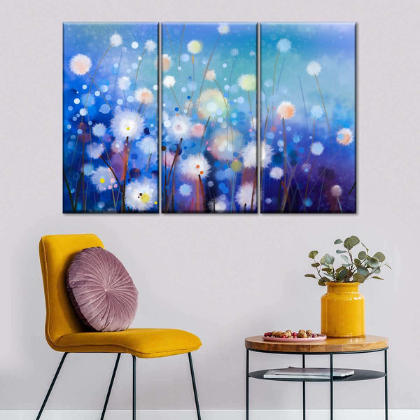 Morning Wishes Multi Panel Canvas Wall Art