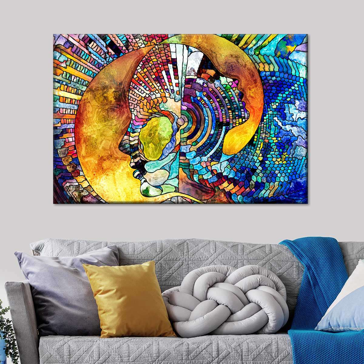 Mother's Guidance Multi Panel Canvas Wall Art