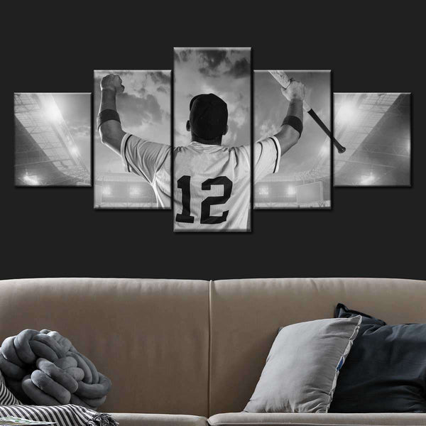 Respect The Game Multi Panel Canvas Wall Art