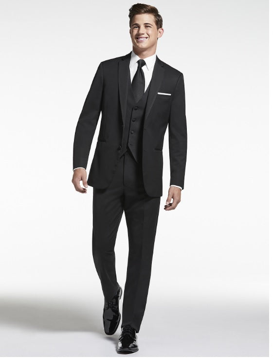 Classic Black Men's Dinner Suit