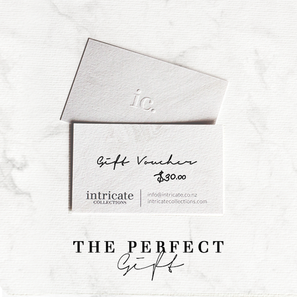 Gift Voucher - NZ$ - Intricate Collections