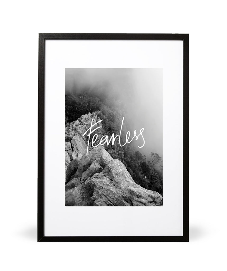 Fearless Art Print - Intricate Collections
