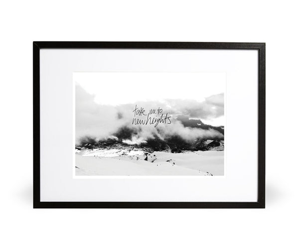 Take Me to New Heights Photographic Print - Intricate Collections
