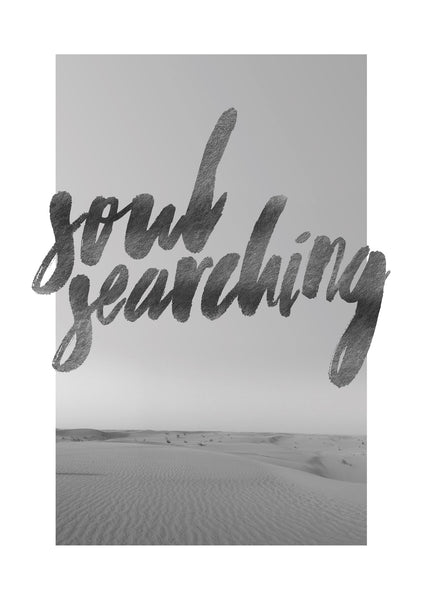 Soul Searching Photographic Print - Intricate Collections
