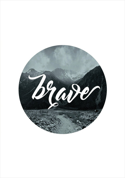 Brave Photographic Print - Intricate Collections