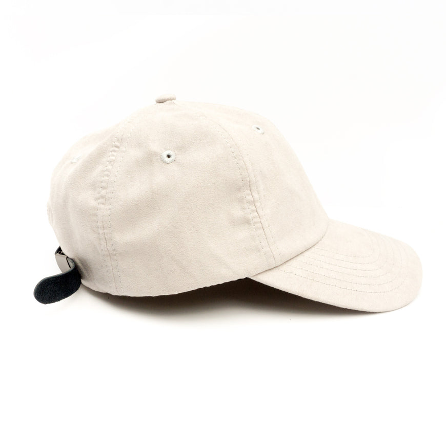 Light Suede Dad Hat (1)