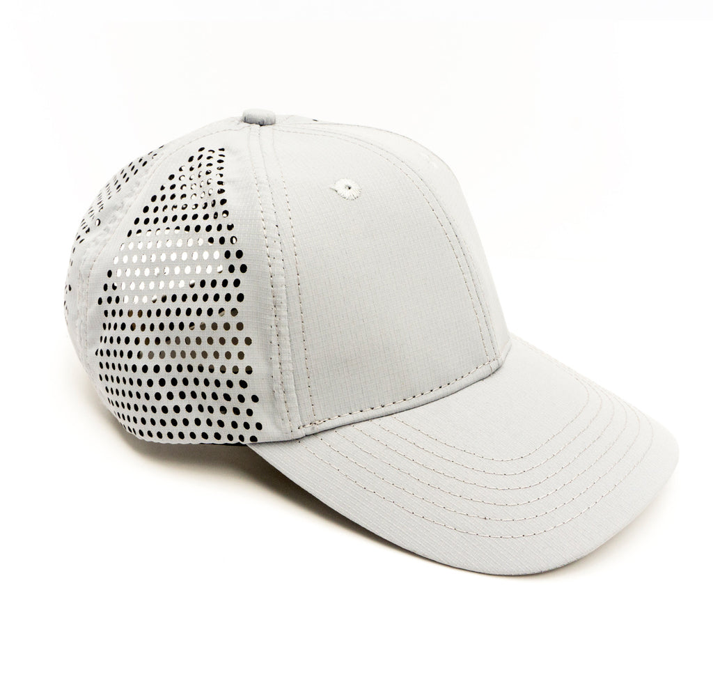Modern Trucker Light Grey 6 Panel