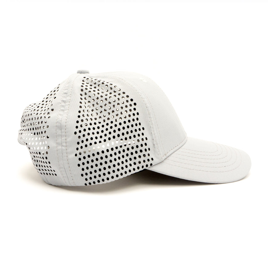 Modern Trucker Light Grey 6 Panel (1)