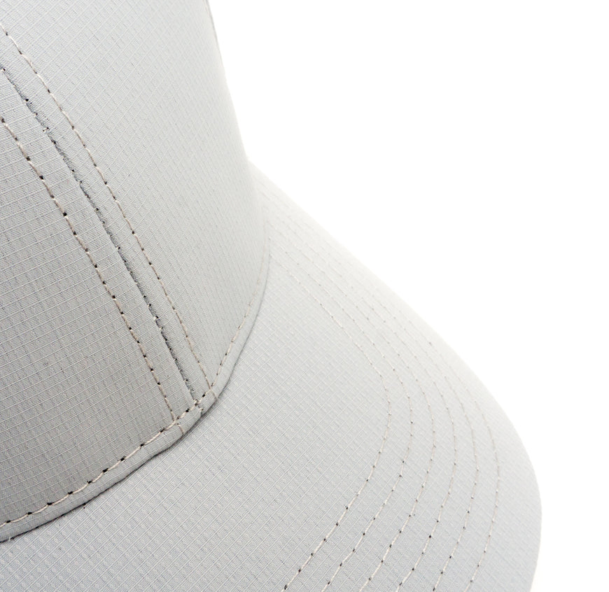 Modern Trucker Light Grey 6 Panel (2)