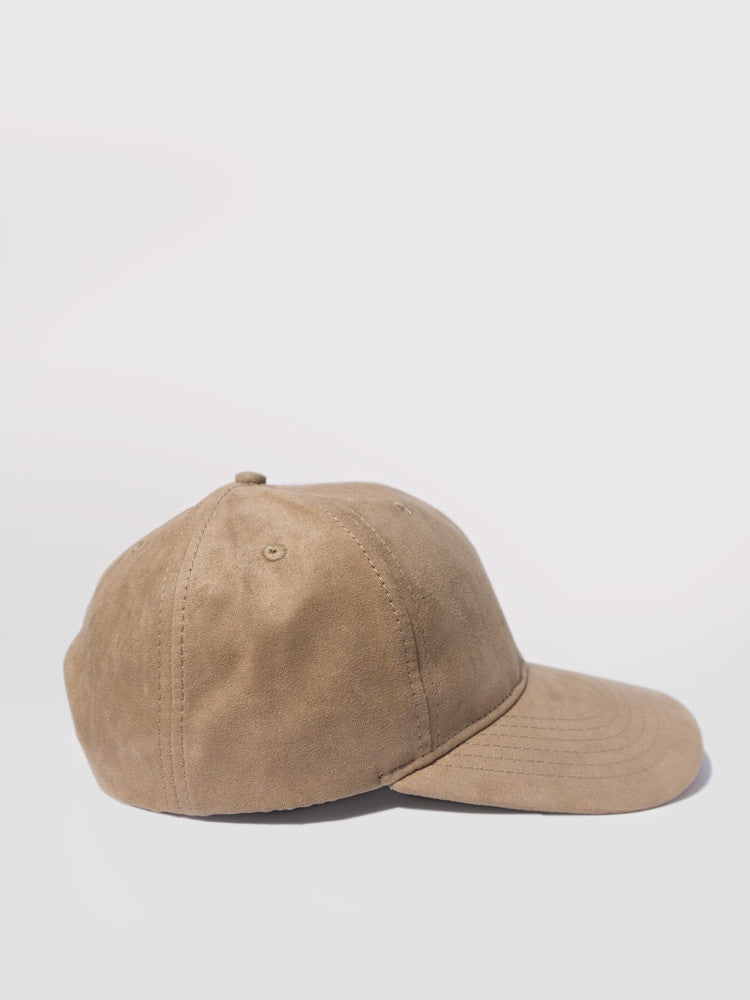 6 Panel Suede Snapback