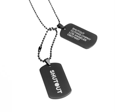 Dog Tags (Black)