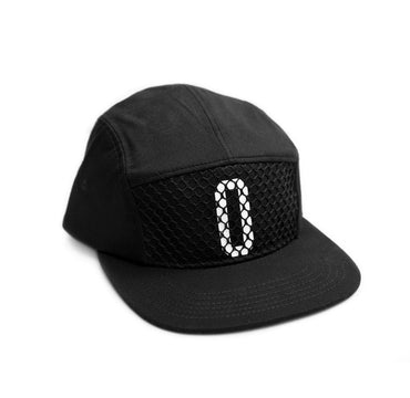 Five Panel Net Black