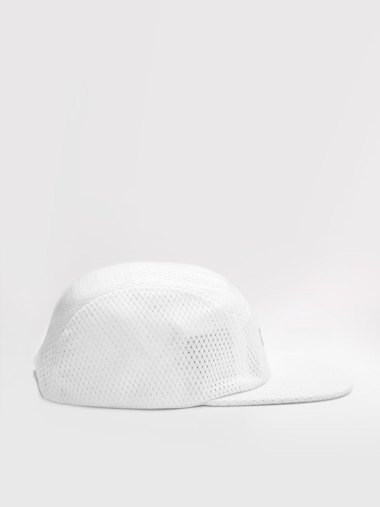 Jersey Five Panel White