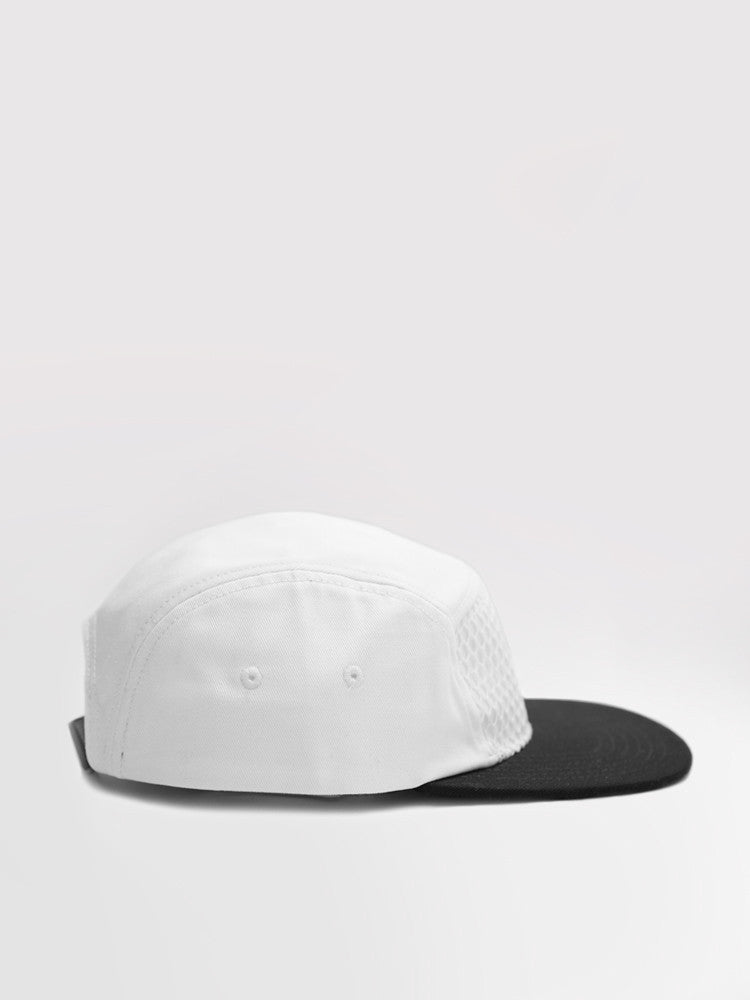 Five Panel Net White