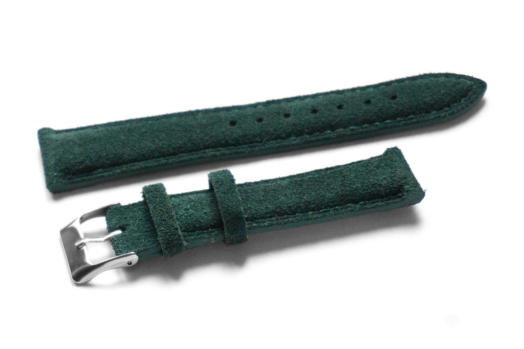 Padded Suede Emerald