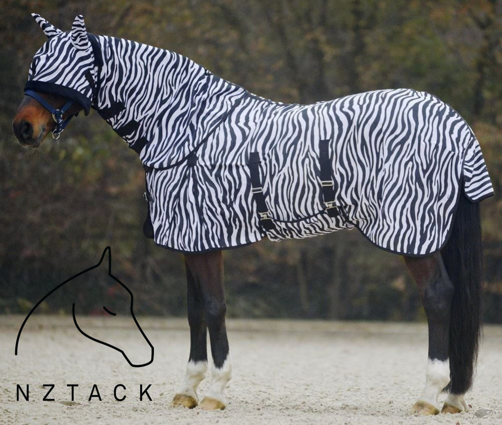 Zebra Summer Mesh Fly Sheet Combo nztack