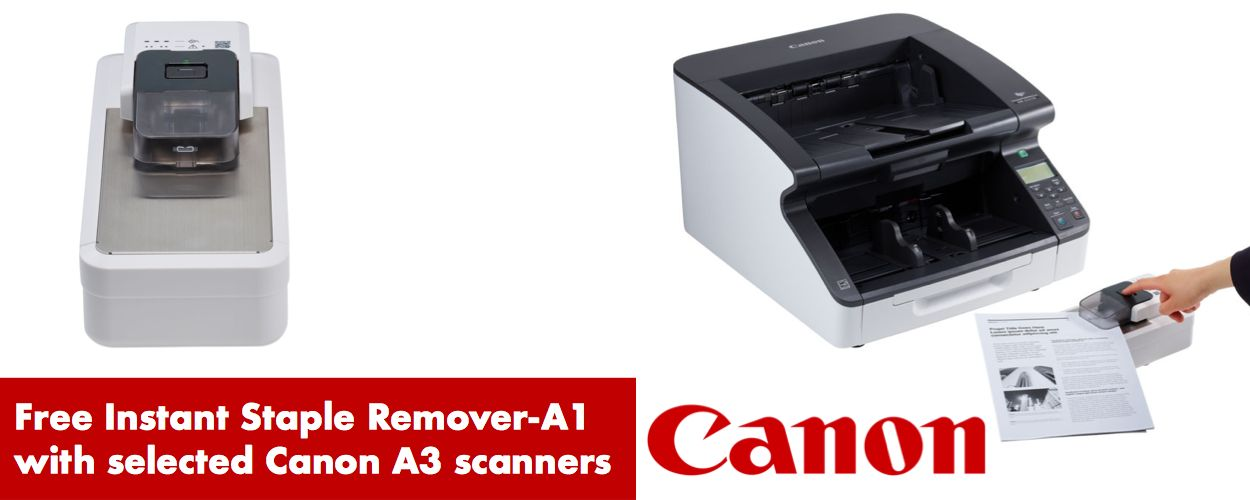 Canon Automatic stapler remover offer