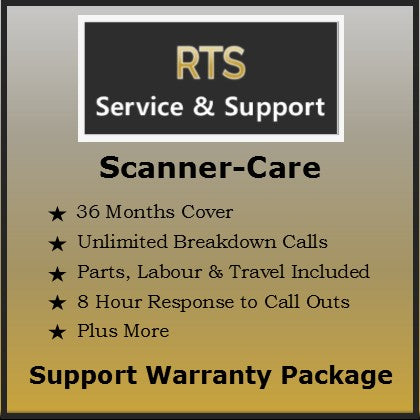 Scanner Care Support Warranty