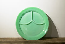 Jadeite 3 Compartment Plate 1940's