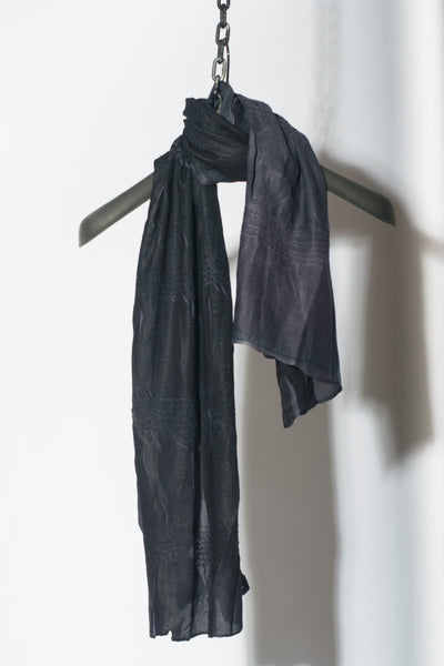 Discharge Dye Wrinkle Scarf