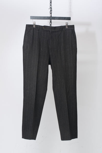 Wool Striped Trousers