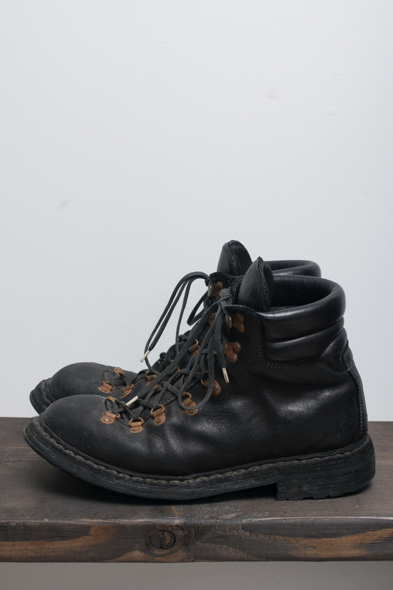 Horse Leather Hiking Boots