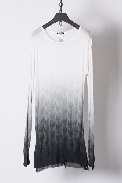 Gradation Raw Edged Shirts from Fall 2012 Men's Collection