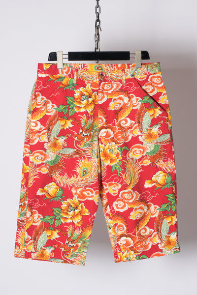 Traditional Japanese Pattern 3/4 Pants from Spring 2010 Men's Collection