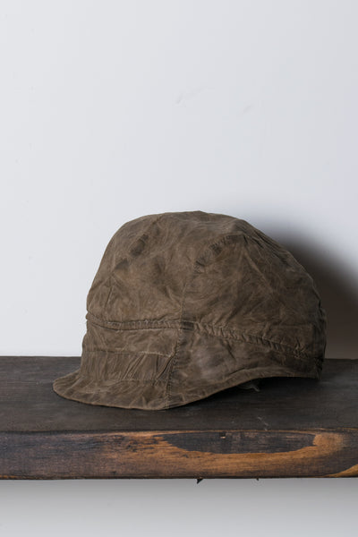 Waxed Cotton Tevye Hat