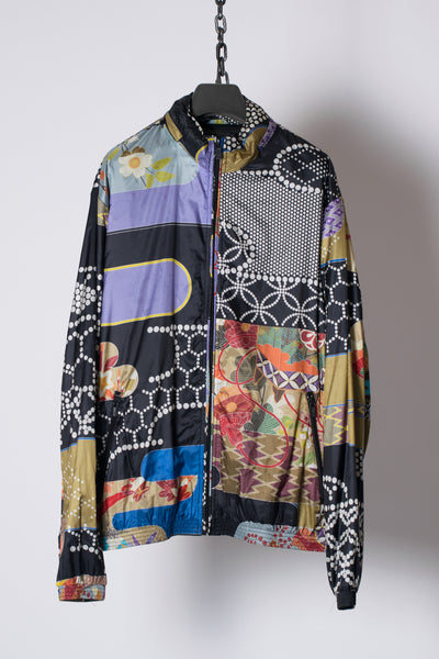 Traditional Japanese Kimono Pattern Windproof Jacket from Fall 2011 Collection