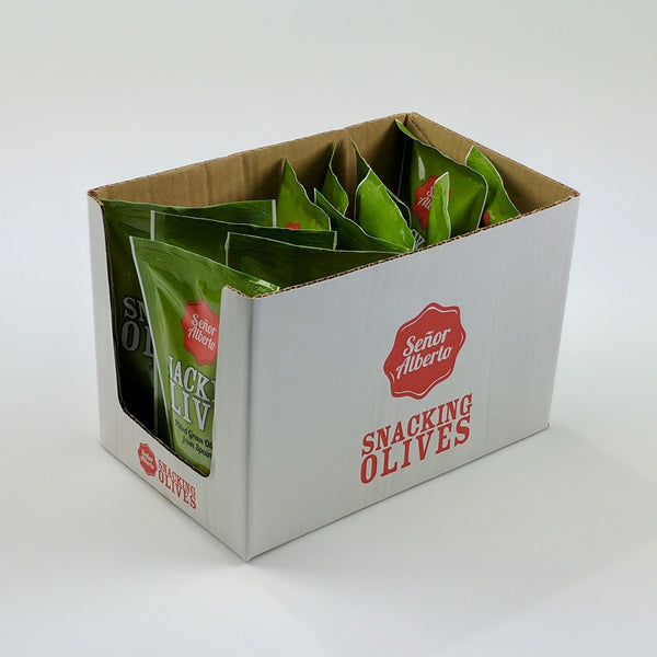 Green Olives (1x12x75g box)
