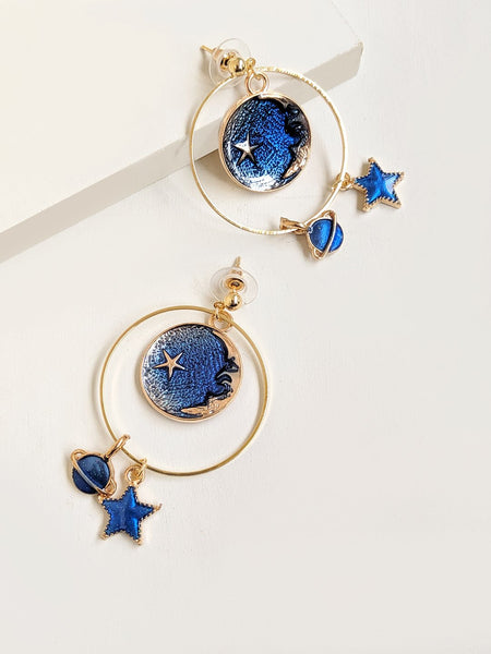 Dreams From Galaxy Earrings
