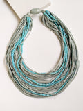 Boho Blue Necklace