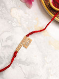 Rose Gold Adventurous Bhai Rakhi