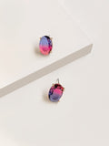 Aurora Borealis Dual Stud Earrings