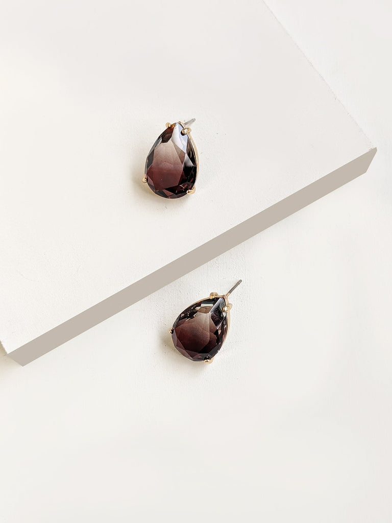 Signature Shaded  Drop Earrings